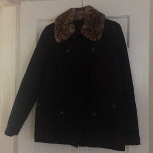 Lauren black jacket, size M